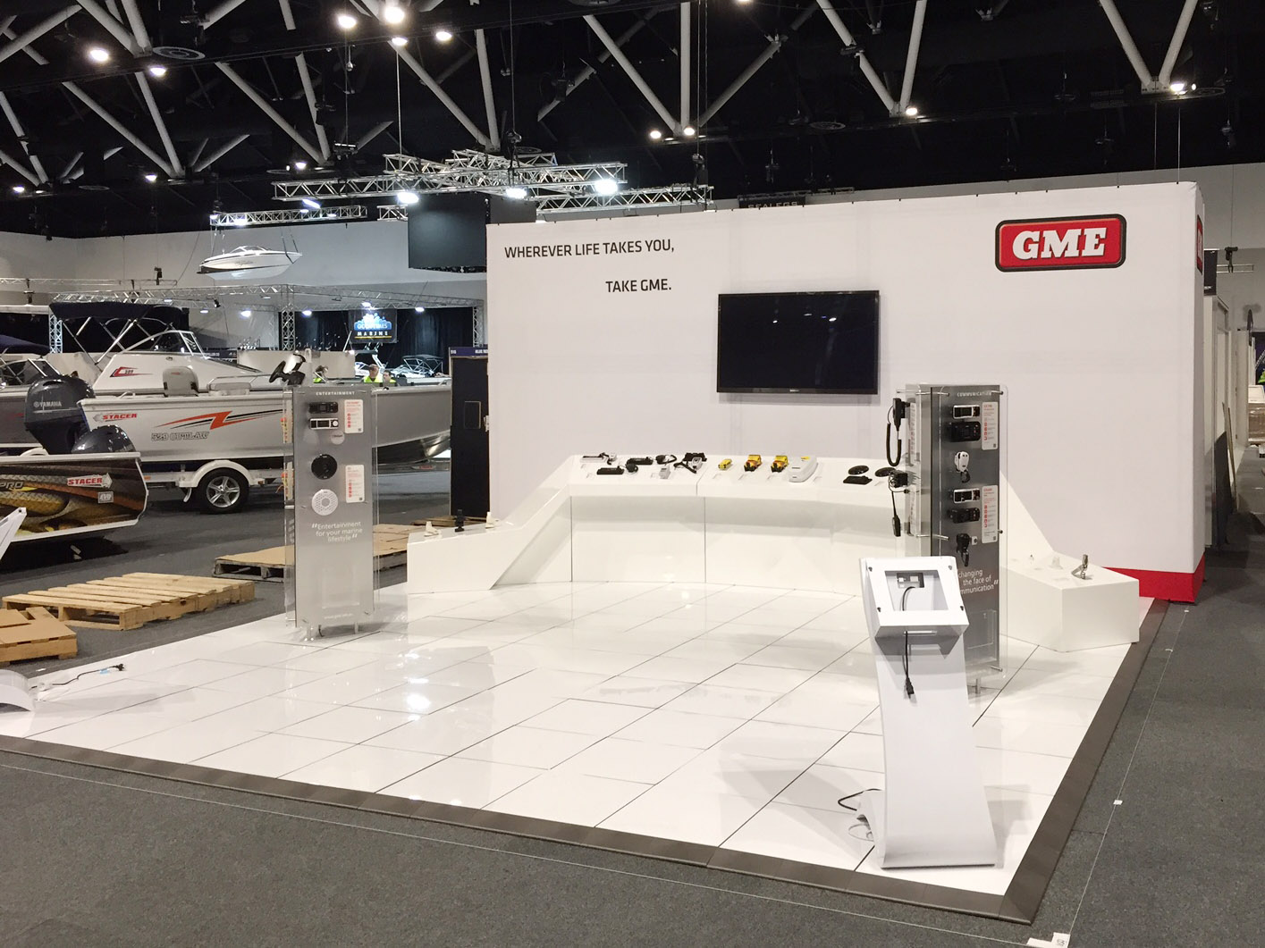GME Exhibition Stand